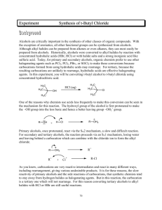 Experiment Synthesis of t