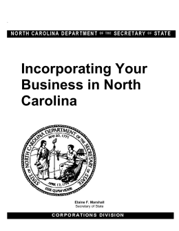 Incorporating Your Nonprofit in North Carolina