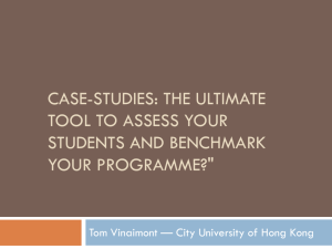 Case-studies - City University of Hong Kong