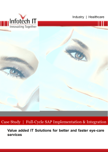 Case Study | Full-Cycle SAP Implementation & Integration