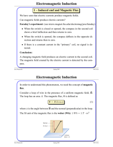 Electromagnetic Induction Electromagnetic Induction