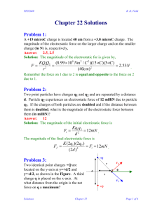 Chapter 22 Solutions