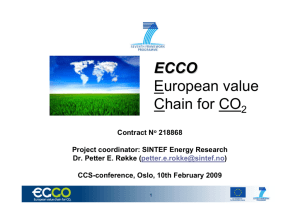 ECCO European value Chain for CO