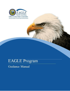 EAGLE Guidance Manua - Office of the State Controller