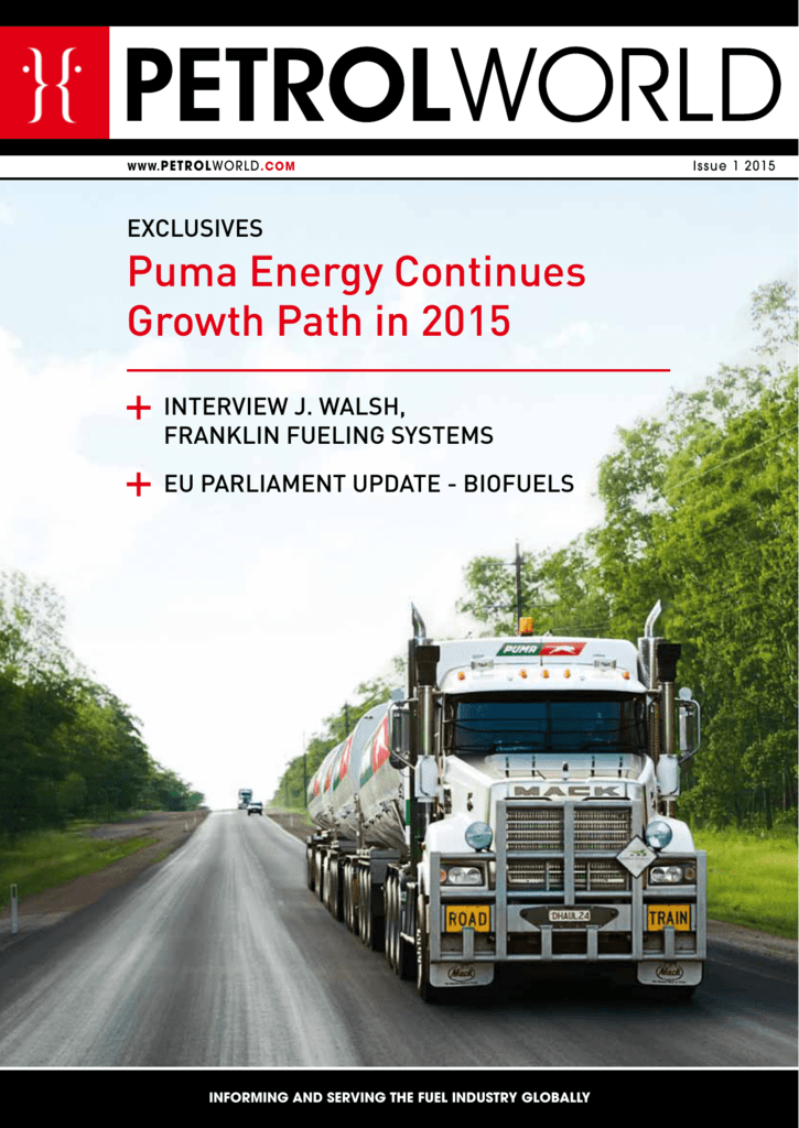 Puma Energy Continues Growth Path in 2015