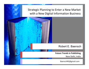 Digital Strategy, Macro View