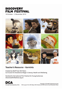 Varmints teachers resource