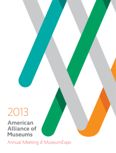 Annual Meeting & MuseumExpo - The American Alliance of Museums