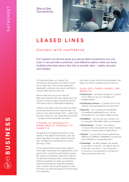 leased lines - Virgin Media Business