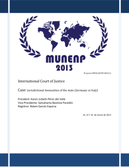 International Court of Justice - Inicio