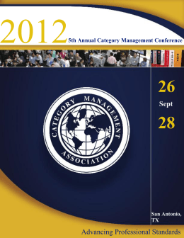 Annual Category Management Conference