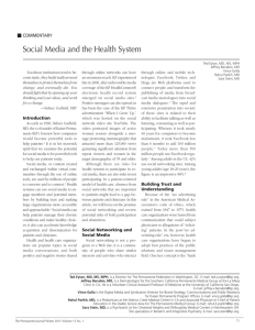 Social Media and the Health System