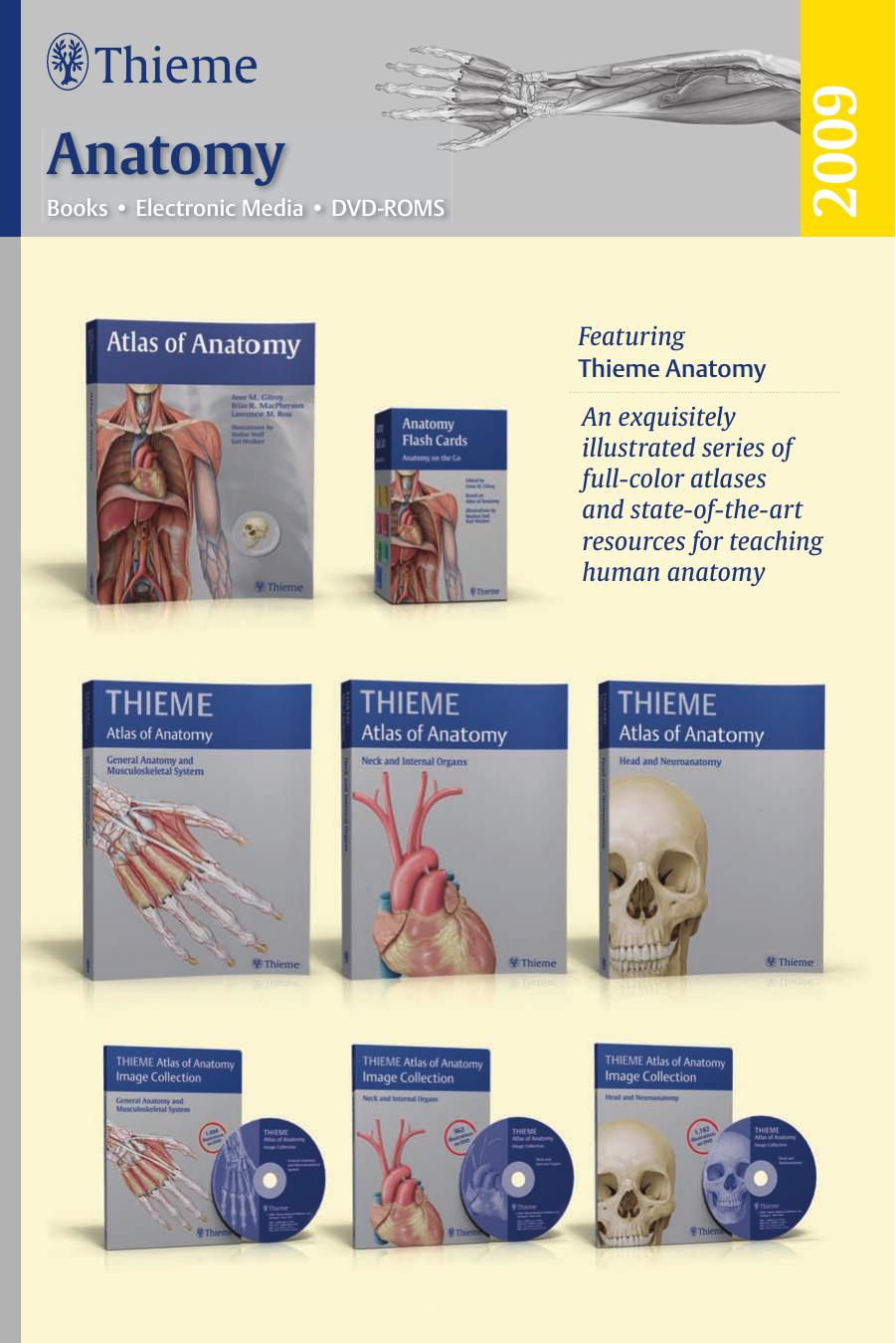 Anatomy Thieme Medical Publishers