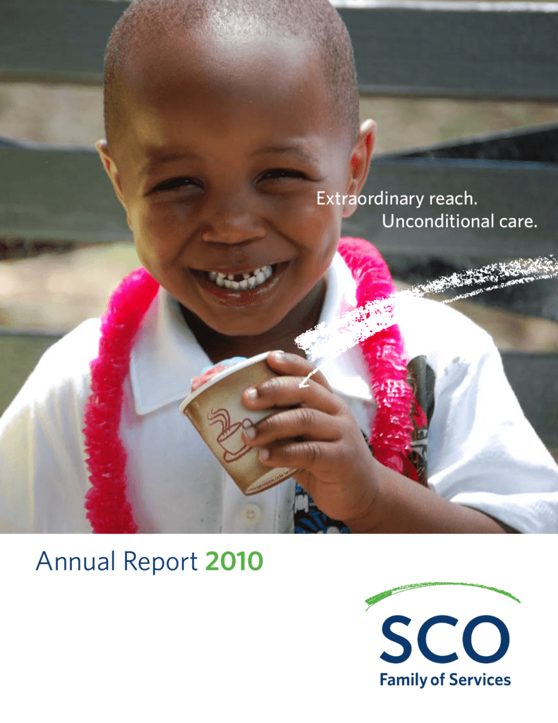 Annual Report 2010 - SCO Family of Services