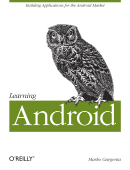 Learning Android - MIT Global Startup Labs