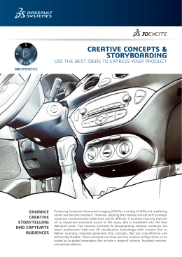 CG Creative Concepts & Storyboarding Flyer