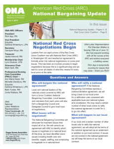 American Red Cross Newsletter June 4, 2015