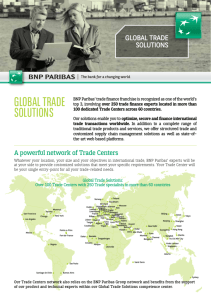 Global Trade Solutions Commercial Brochure