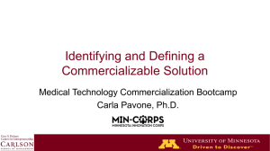 (be) commercialized - mn