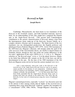 questioning the accuracy of oral tradition in beowulf Preliterate, oral tradition many forms of recitation or paths were designed to aid accuracy in (1991) traditional oral epic: the odyssey, beowulf and.