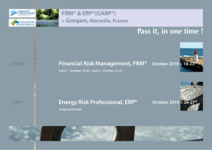 About GARP - FRM® Program Structure and Eligibility Criteria