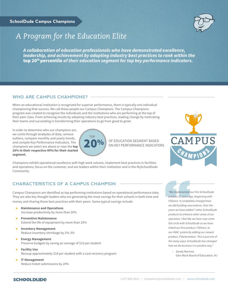 CAMPUS - SchoolDude