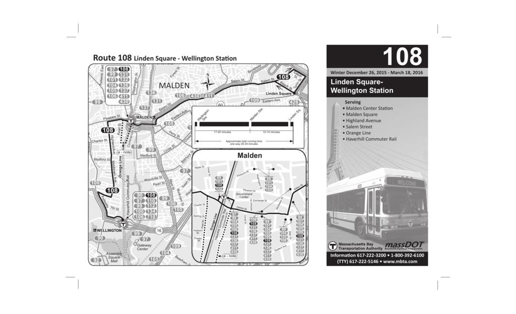 108 Bus Schedule