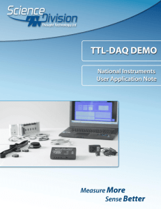 National Instrument TTL-DAQ DEMO1
