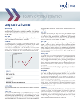 Long Ratio Call Spread