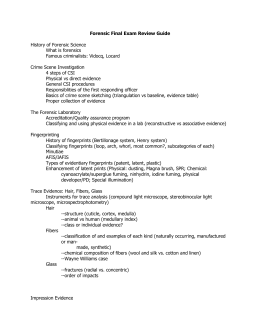 sir edward richard henry oldforensics 2012 2013 rh studylib net forensic science final exam study guide packet forensic science exam study guide