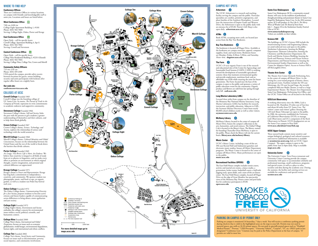 WHERE TO FIND HELP COLLEGES AT UCSC CAMPUS HOT on coastal parking map, boston university parking map, brown university parking map, csm parking map, binghamton parking map, dartmouth parking map, berkeley parking map, microsoft corporate campus map, michigan parking map, sjsu parking map, uc san diego parking map, csusm parking map, davis parking map, uc irvine parking map, sfsu parking map, tulane parking map, chapman parking map, usd parking map, ucsb parking map, wellesley college parking map,