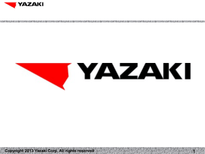 Copyright 2013 Yazaki Corp. All rights reserved