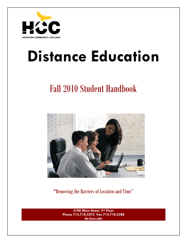 distance education houston community college