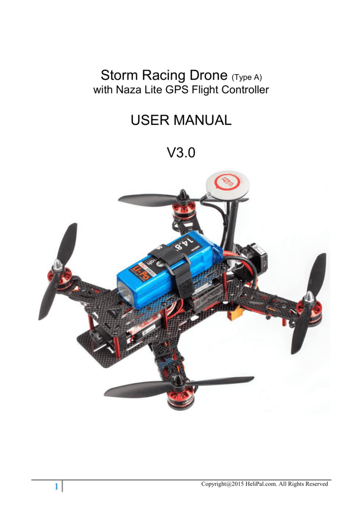 quadcopter naza wiring diagram storm racing drone  type a  user manual v3 0  storm racing drone  type a  user manual