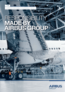 Corporate Responsibility & Sustainability 2014