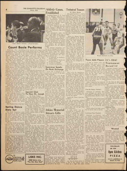 Count Basie Performs - North Carolina Newspapers