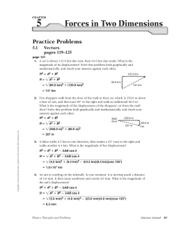Physics Solutions Manual