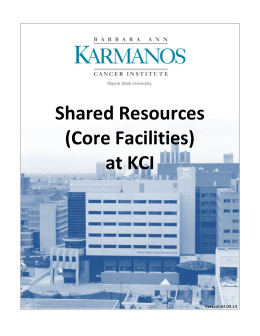 the KCI Core Handbook