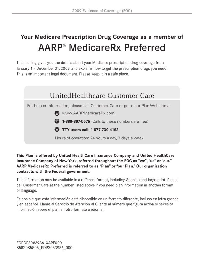 AARPR MedicareRx Preferred
