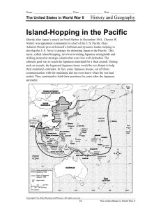 Island-Hopping in the Pacific