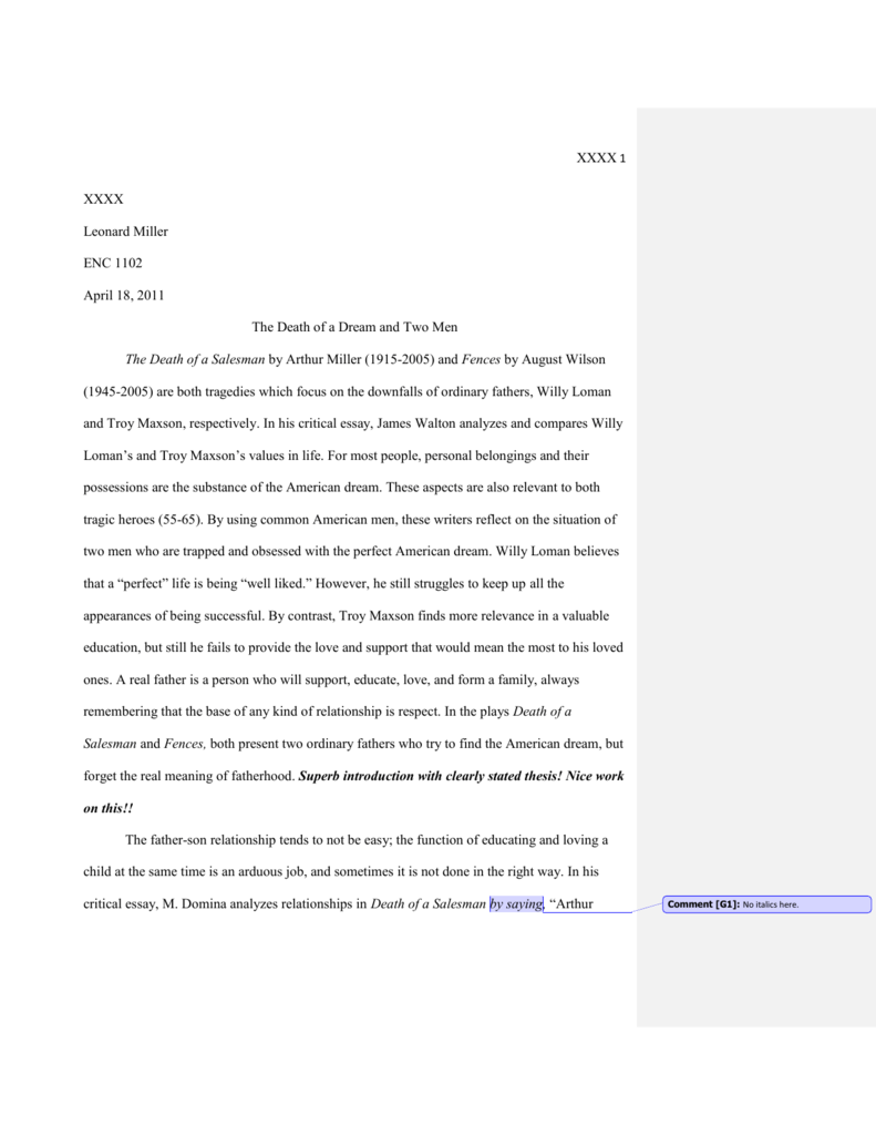 Honesty Essay Examples Death Of A Salesman Literary Analysis Essay Term Paper Writing Study Com  Death Of A Salesman Essay Search Engine also Education System Essay Death Of A Salesman Literary Analysis Essay Population Problem In India Essay