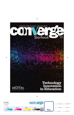 Converge Special Report 2011 Yearbook