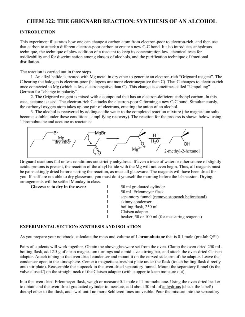 preparation of 1 bromobutane lab report