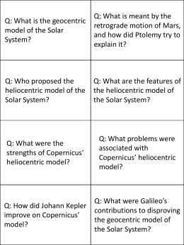 P1 Topic 1 revision flashcards