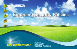 Enforcing Security Policies