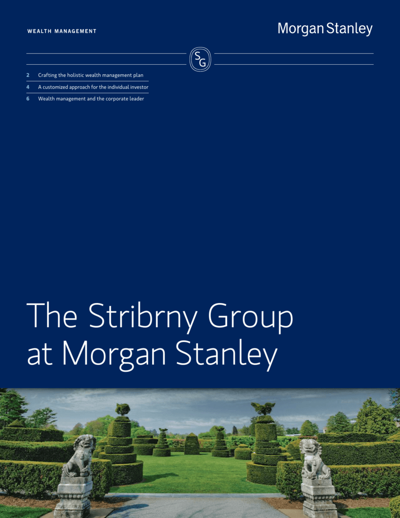 The Stribrny Group at Morgan Stanley