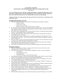 AP Euro Unit 3 Study Guide (2) - AP European History Unit ...
