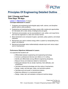 Principles of Engineering - G/T