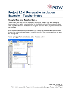 Project 1.3.4 Renewable Insulation R
