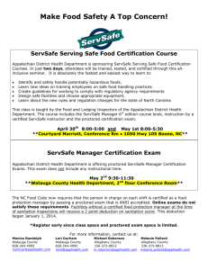study guide for serve safe test 2013